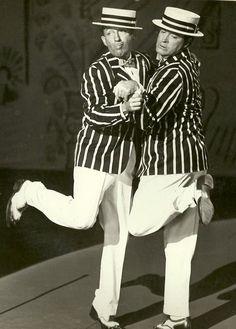 Bing Crosby and Bob Hope