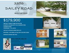 #houseforsale #homeforsale  WELCOME TO 3356 DAILEY ROAD ! #realestate #realtor #Clarksville #tn #fortcampbell #ky #newconstruction #woodlawn #countryliving #coldwellbankercmh