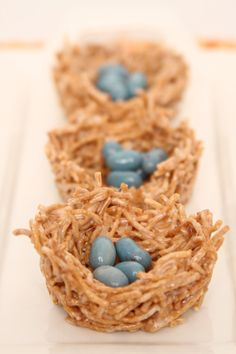 Spring Birds Nests--Perfect Easter table decor