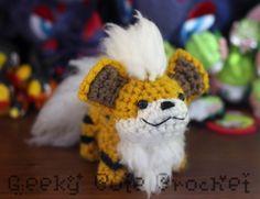 Geeky Cute Crochet - Growlithe