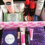 Wow thanks topbox  and unilever for this awesome surprise ready for my business trip now