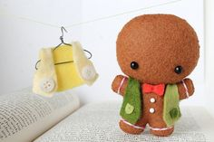 Patterns: Felt Gingerbread Man Ornament