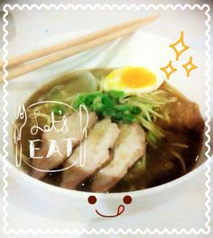 Homemade pork ramen (tonkotsu ramen) #food #japan