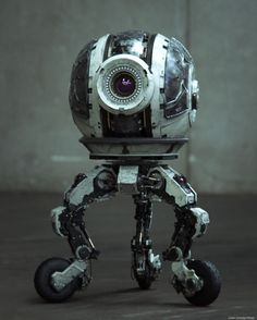 ROBO 10-S.I.O. created by Julen Urrutia using 3ds max, After Effects and Keyshot.