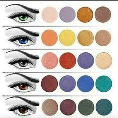 Det kan være svært at vælge den helt rigtig nuance, så her er en lille guide, som peger dig i den rigtige retning. Husk at du kan vælge mange nuancer og intensiteter af de viste farver - alt efter hvilken effekt du ønsker, hvilken stil din samlede makeup udtrykker og hvilken hudtone du har.