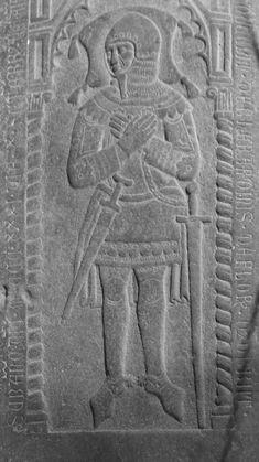 Effigies & Brasses: Gherarduccio de Gherardini (1331)