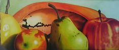 bodegón moderno Miguel Tapia Pear, Fruit, Food, Art, Essen, Yemek, Eten, Meals