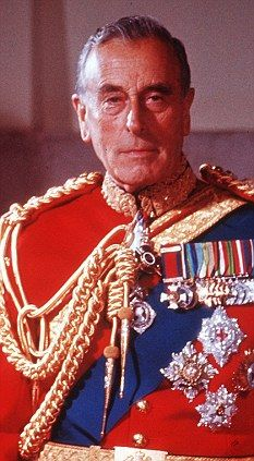 Lord Louis Mountbatten of Burma was born on this day 25th June, 1900. He was Commander-in-Chief of the Royal Navy in SE Asia during the 2WW and later Viceroy of India during the transfer of power from Britain to India. Mountbatten was assassinated in 1979 by the IRA who planted a bomb in his fishing boat in the Republic of Ireland. His great-grandmother was Queen Victoria.  B. Lowe