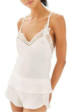 eed0495a7c28f Main Image - Topshop Bride La Bohemian Camisole Pajamas Topshop Pyjamas