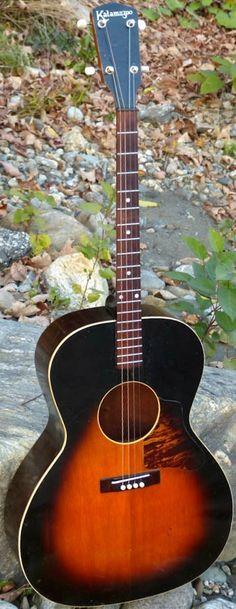 30's Kalamazoo Tenor Guitar --- https://www.pinterest.com/lardyfatboy/