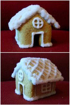 Cookie house #cookies #Christmas #cute #sweet #house