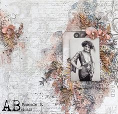Scrap Made in Touraine: Lilly - A.B. Studio DT Scrapbooking Layouts, Scrapbook Paper, Studio Layout, Stamp, General Crafts, Layout Inspiration, Paper Art, Shabby Chic, Gallery