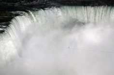 Nik Wallenda's Tightrope Walk Over Niagara Falls. | 30 Incredible Once In A Lifetime Shots