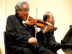 "Perlman & Hector: ""Allegro"" by Fiocco - Tilles Center New York - 4/17/10"