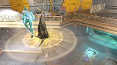 Booster Gold - Queen Bee - Brainiac - Hive Base - DC Universe Online - A...