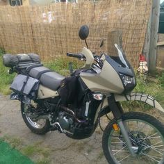 Custome KLR 650 Motorcycle Camping, Camping Gear, Klr 650, Dual Sport, Bike Trails, Bobber, Cars And Motorcycles, Offroad, Gears