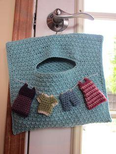 Ravelry: PaisleyJenna's Clothes Line Bag
