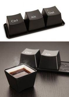love these mugs! geek chic. :) - got these but they are…