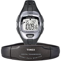 Timex Zone Trainer Digital Heart Rate Monitor * Find out more about the great product at the image link. (This is an affiliate link and I receive a commission for the sales) Triathlon Watch, Sporty Watch, Running Watch, Timex Watches, No Equipment Workout, Fitness Equipment, Workout Gear, Fitness Watch, Watch Model