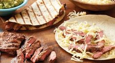 Check out this delicious recipe for Skirt Steak Quesadillas with Guacamole from Weber—the world's number one authority in grilling.