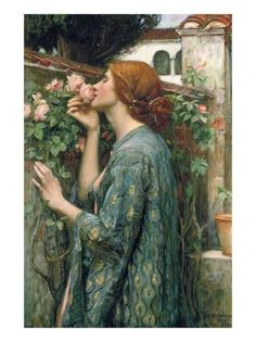Browse through images in Bridgeman Images' John William Waterhouse collection. John William Waterhouse was a leading English Pre-Raphaelite artist known for his deptictions of female characters from mythology. John William Waterhouse, William Faulkner, John William Godward, Pre Raphaelite Brotherhood, Beautiful Paintings, Classic Paintings, Old Paintings, Love Art, Oeuvre D'art