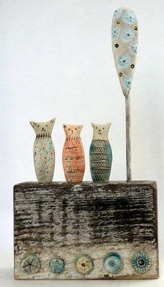 Cambridge Cats - Shirley Vauvelle