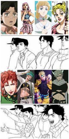 Jojo's Bizarre Adventure, Jojo's Adventure, Jojo Anime, All Anime, Johnny Joestar, Joseph Joestar, Jojo Memes, Best Waifu, Fujoshi