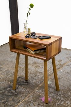 The 'Walker' Console Side Table by GLENCROSS WOODWORKS - Console Table, Side Table, Bedside Table, Custom Made, Recycled Timber, Solid Timber, Traditional, Contemporary, Rustic, Melbourne