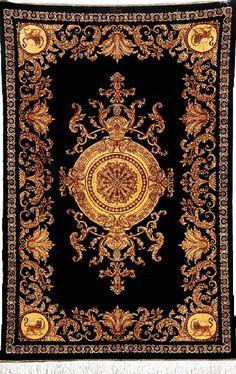 'King Crown' Silk Qum 'Ahmadi' Rug (Signed), Persia, circa 15 years old, pure silk, approx. 156 x 103 cm