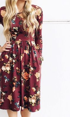 19 that will motivate you new fall outfits dresses dressy. Mode Outfits, Fall Outfits, Dress Outfits, Summer Outfits, Dress Clothes, Pretty Outfits, Pretty Dresses, Modest Dresses, Modest Church Outfits