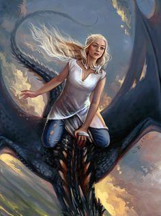 Daenerys by Vesea on DeviantArt