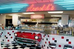 Arnold's Classic 50s Diner- Rapid City, SD.  Great diner food and  excellent shakes!!!