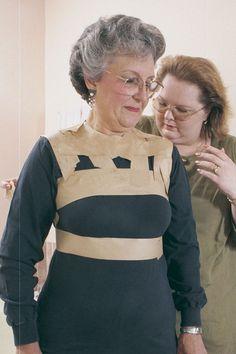 Paper-Tape Dress Form - Threads