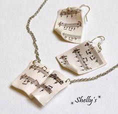 Scrapbook note musicali