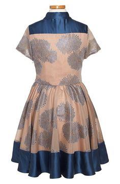 Armani Junior 'Firework' Button Front Dress (Big Girls) | Nordstrom