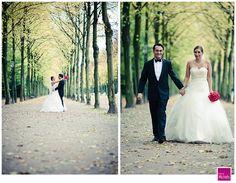 Brautpaar im Hofgarten Düsseldorf