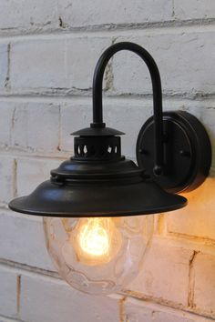 $130 Mews Wall Light - Vintage wall light with an antique bronze finish