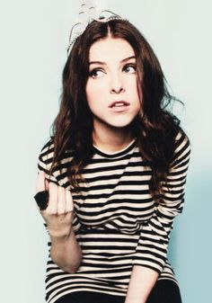 Anna Kendrick: take shit from no one, humor is your armor and your weapon, though she be little she be fierce.