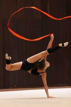 Rhythmic gymnastics ribbon =)