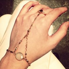 We LOVE this new sky quartz hand chain by Hard Couture. Shop it now at Slave Bracelet, Hand Chain, Diy Jewelry Making, Jewelry Trends, Women Wear, Jewelry Design, Quartz, My Style, Bracelets
