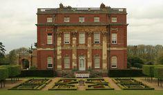 Clandon House in Surrey, England, designed by Venetian architect Giacomo Leoni (1686 – 1746)