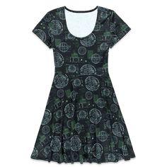 http://www.thekesselrunway.com/her-universe-rogue-one-death-star-dress/ #thekesselrunway #starwarsfashion