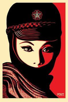 Shepard Fairey (Obey) - Mujer Fatale - 2018 - Catawiki