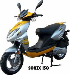 Moped Scooter | 150cc | SSR Sonic - GoKarts USA Scooter Shop, Moped Scooter, Drum Seat, Chinese Scooters, Oil Service, Final Drive, Seat Storage, Small Engine
