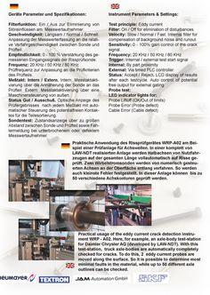 Für LAW-NDT Mess- und Prüfsysteme GmbH, in 65623 Zollhaus erhielt ich den Auftrag eine mehrseitige Broschüre über die Rissprüfanlagen des Unternehmens zu erstellen.