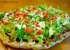 Yummy CPK Tostada Pizza Recipe...so good!
