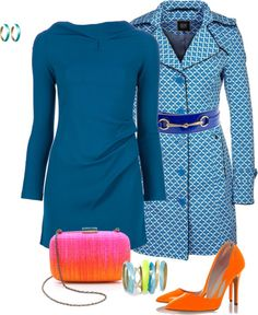 """""""The Blue Mod Squad"""" by eliza-416 ❤ liked on Polyvore"""