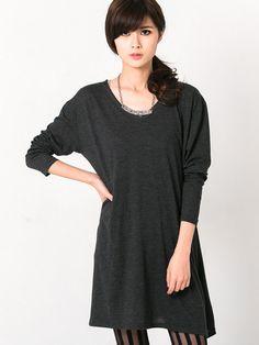 Made In Korea Tunic Cotton Top $21.80
