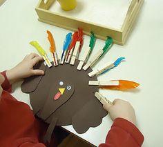 November - fall Montessori type activities