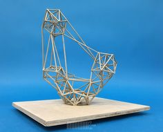Deconstructivism, Composition, Twitter, Design, Home Decor, Bricolage, Paper, Toothpick Sculpture, Sculptures